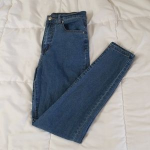 NWOT high rise jeans